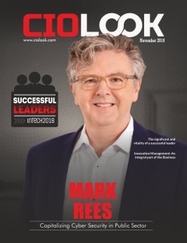 Cover Page | Successful Leaders in Tech 2018 | Mark Rees | CIO Look